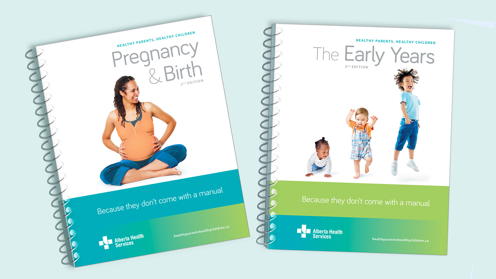 AHS Pregnancy and Early Years books
