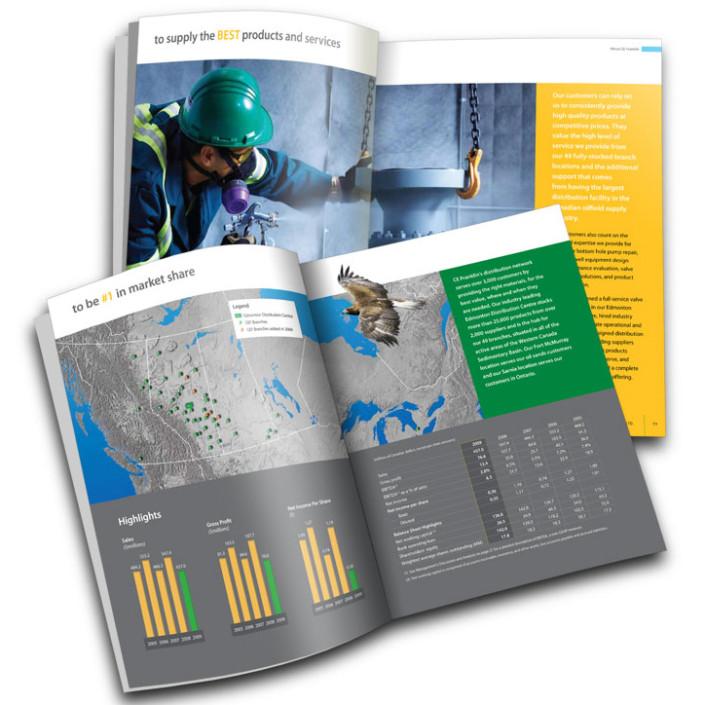CE Franklin Annual Report